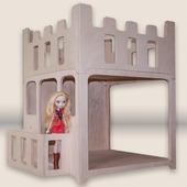 Модульный дом для кукол 30 см