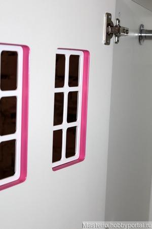Шкаф-домик ручной работы на заказ