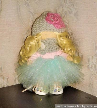 Интерьерная куколка Лера ручной работы на заказ