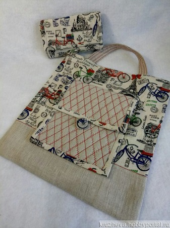 Эко-сумка ручной работы на заказ