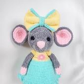 Вязаная мышка