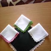 фото: Носовые платочки