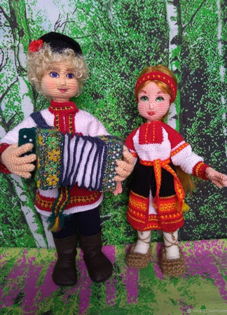 Авторская кукла ручной работы на заказ