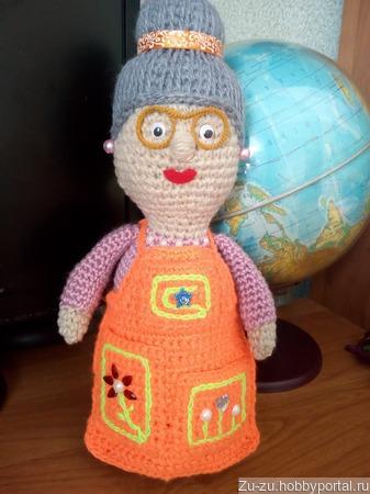 Бабушка-игольница ручной работы на заказ