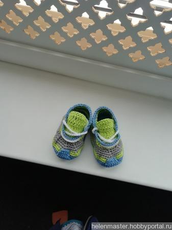 Пинетки кроссовки ручной работы на заказ