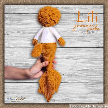 Золотая рыбка Lili ручной работы на заказ