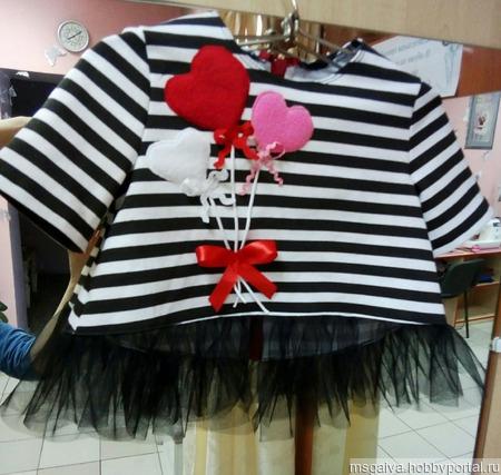 Кофта для девочки ручной работы на заказ