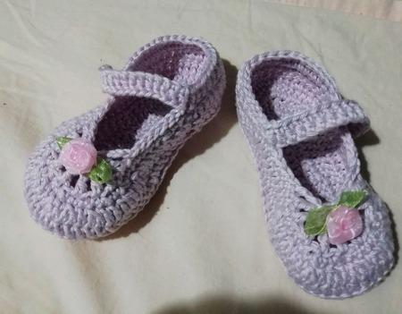 Туфельки на первый шаг ручной работы на заказ