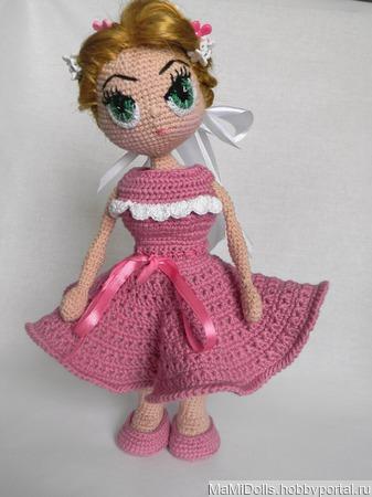Кукла амигуруми Милена ручной работы на заказ
