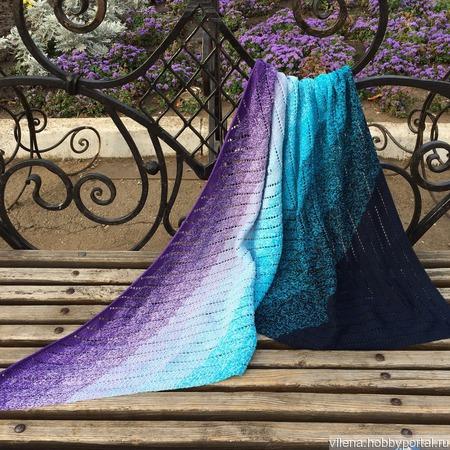 Бактус шаль платок ручной работы на заказ