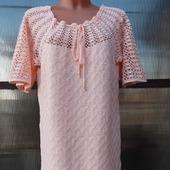 Платье цвета персик