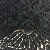 Вязаная летняя юбка из шелка