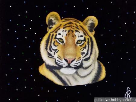 """Знак зодиака """"Тигр"""" ручной работы на заказ"""
