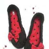 фото: Домашние тапочки — обувь ручной работы (домашняя обувь)