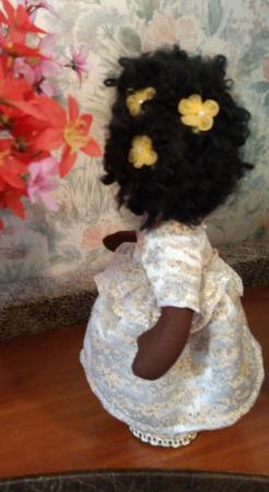 Куколка негритянка ручной работы на заказ