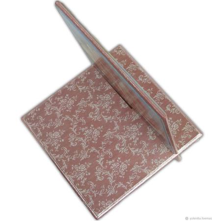 """Подставка под смартфон, планшет или ридер """"Розовая нежность"""" ручной работы на заказ"""