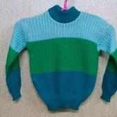 Вязаные свитеры для девочек и мальчиков