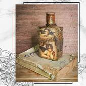 """Бутылка """"Старые книги"""""""