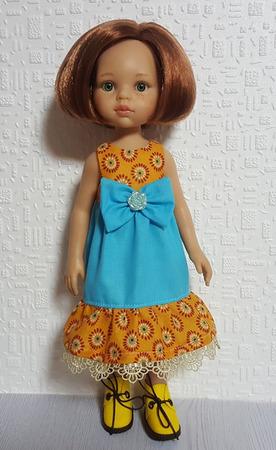 Платья для кукол ручной работы на заказ
