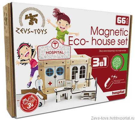 """Деревянная игрушка """"Pink house"""" ручной работы на заказ"""