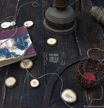 Фотофон деревянный ручной работы на заказ