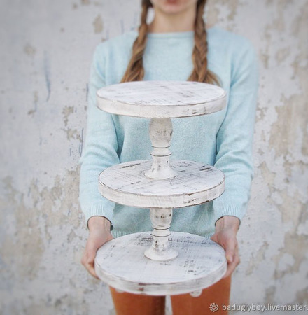 Многоярусная подставка для торта ручной работы на заказ