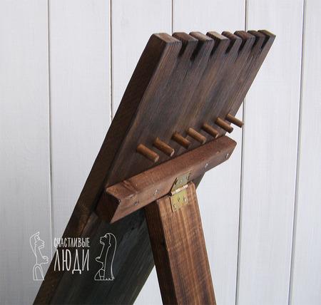 Подставка для украшений из дерева ручной работы на заказ