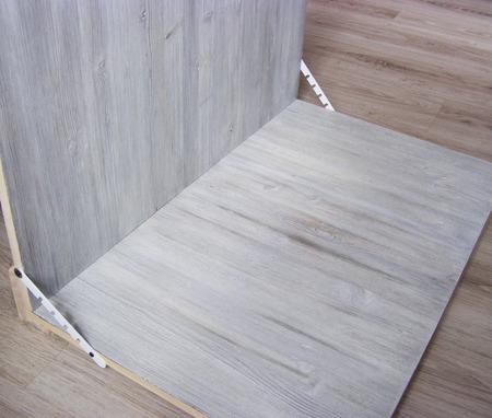 Деревянный угловой фотофон с креплениями ручной работы на заказ