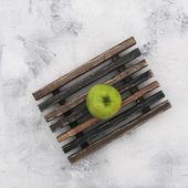 Поднос деревянный реечный