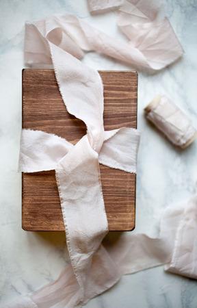 Шкатулка подарочная для фотографий ручной работы на заказ