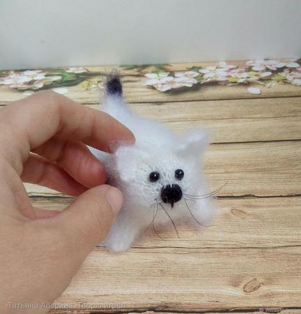 Котёнок малыш ручной работы на заказ