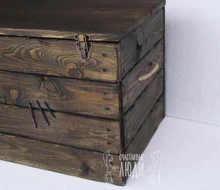 Сундук деревянный ручной работы на заказ