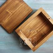 Деревянная шкатулка для фотографий