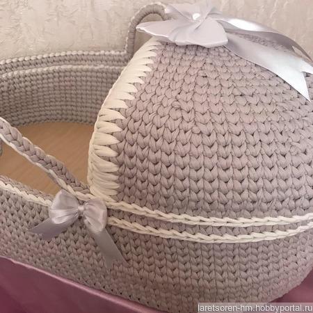 Люлька для новорожденного ручной работы на заказ