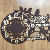 Часы учителю на заказ