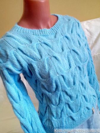 Вязаный свитер ручной работы в Ульяновске ручной работы на заказ