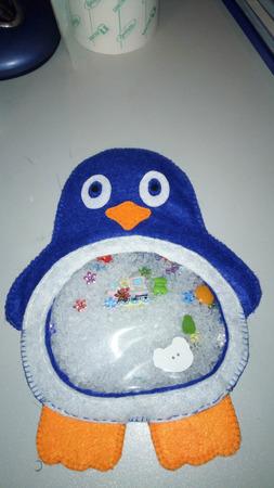 Пингвин-искалочка ручной работы на заказ