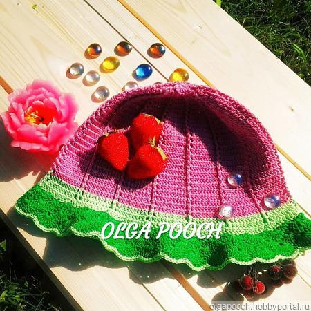 """Панамочка или """"Яркое лето"""" для маленьких принцесс ручной работы на заказ"""