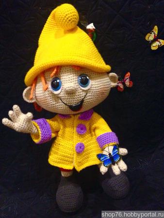 Мастер класс по вязанию игрушки крючком ручной работы на заказ