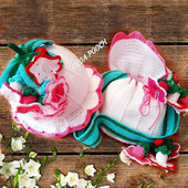 фото: Одежда для девочек — товары для детей (сумочка вязаная крючком)