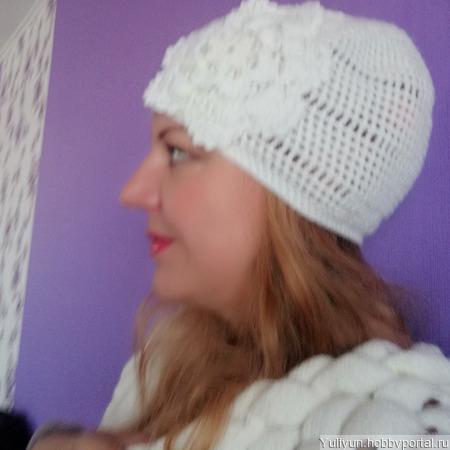 Летняя шапочка 2 ручной работы на заказ