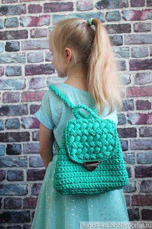 Детский рюкзак ручной работы на заказ