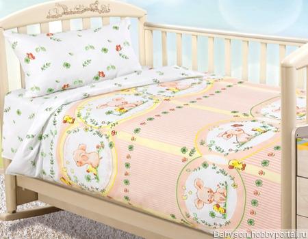 Детское постельное белье ручной работы на заказ