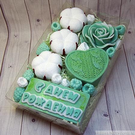 Подарочный набор из мыла ручной работы ручной работы на заказ