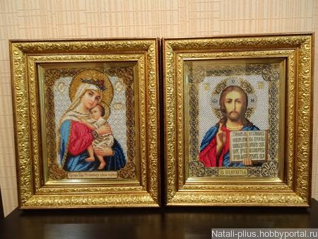 Иконы Отчаянных Единая Надежда и Господь Вседержитель ручной работы на заказ