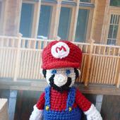 Марио из компьютерной игры