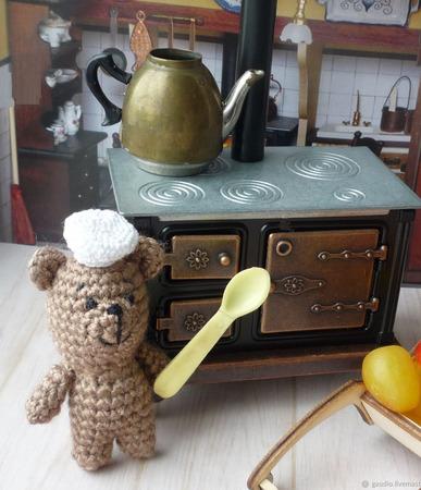 Медвежонок вязаный ручной работы на заказ