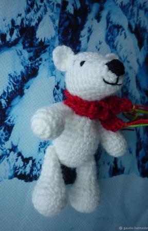 Медвежонок вязаный крючком ручной работы на заказ