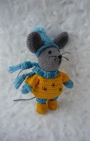 Мышонок вязаный крючком ручной работы на заказ