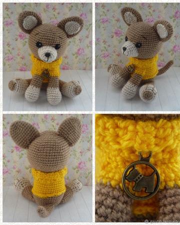 Собачка чихуахуа в свитере ручной работы на заказ